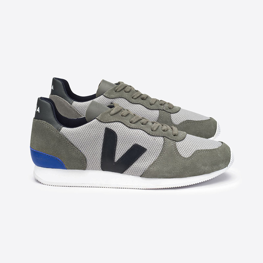 Baskets VEJA – Holiday Low Top Suede B-mesh Silver Black
