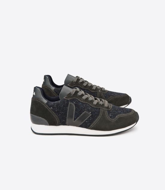 Sneaker Veja Holiday Low Top Flannel Dark Grafite Grafite