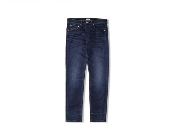ED-80 Slim Tapered Jeans CS Night Blue Denim - Contrast Clean Wash