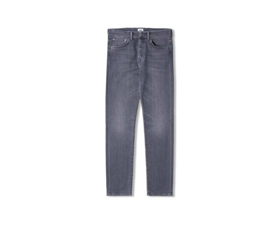 Jean ED-80 slim tapered grey stretch