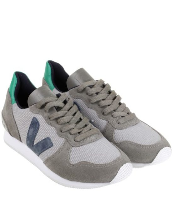 Holiday low-top b mesh silver grey nautico