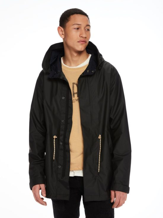 Parka noire Scotch & soda