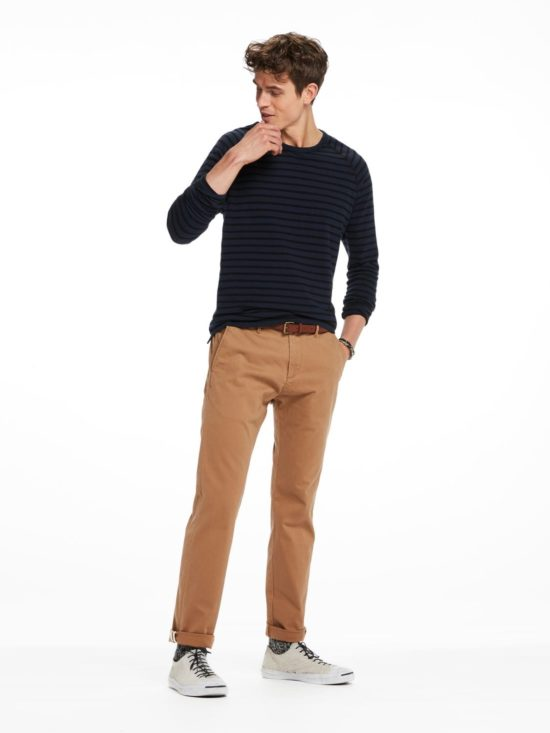 Chino Camel Slim fit Scotch and Soda