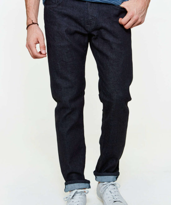 Jean stretch bleu indigo coupe regular