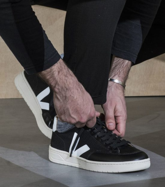 Sneakers noires & blanches Veja