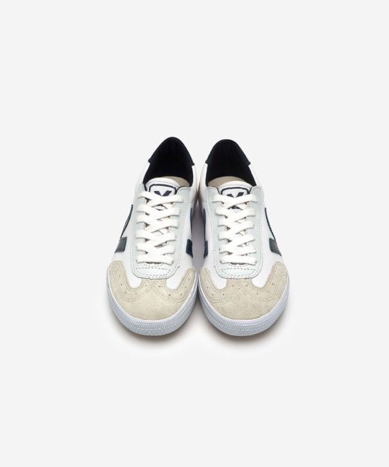 Sneakers blanches & marine