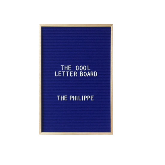 Letter Board The Cool Company Marine, moyen format