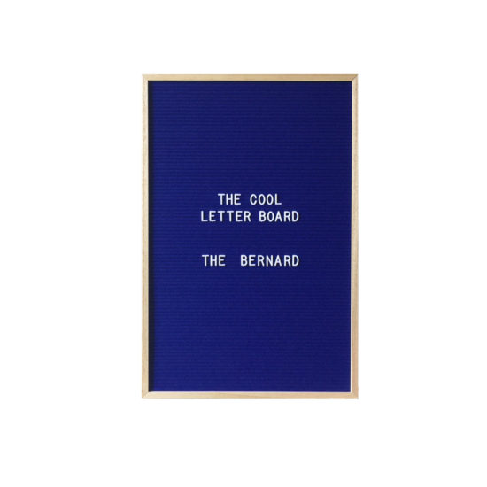 Letter Board The Cool Company Marine, grand format
