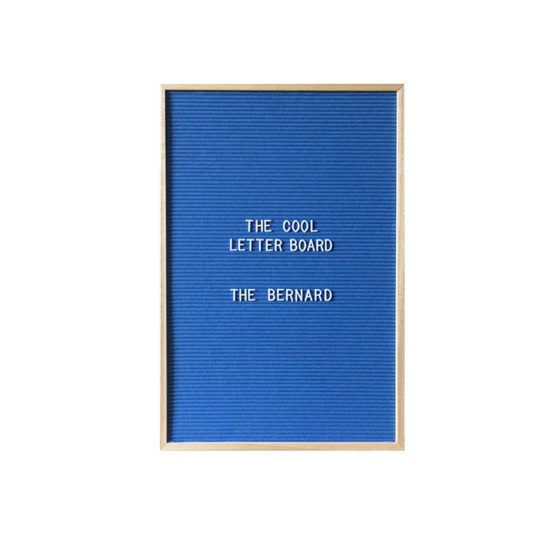 Letter Board The Cool Company Bleu, grand format