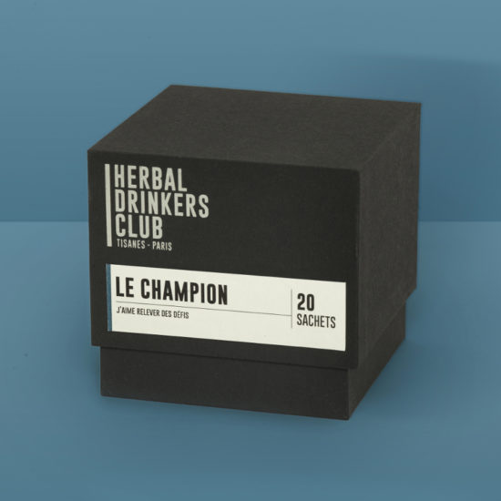 "Tisane ""Le Champion"" Herbal Drinkers Club"