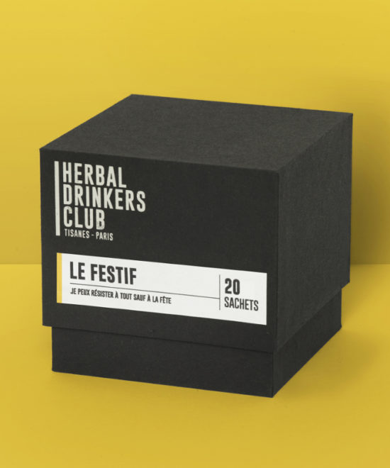 "Tisane ""Le Festif"" Herbal Drinkers Club"