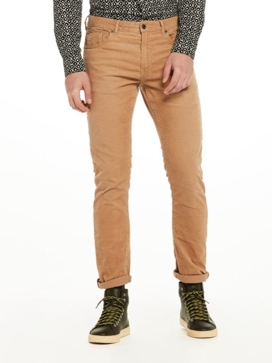 Pantalon en velours slim fit Scotch & Soda Sable