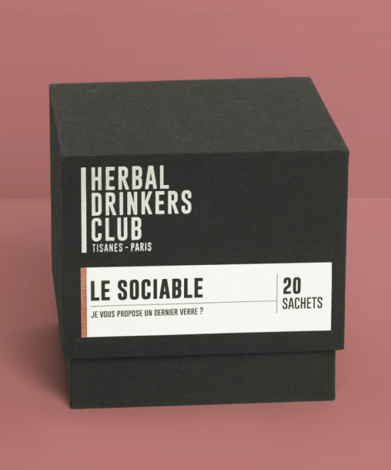 "Tisane ""Le Sociable"" Herbal Drinkers Club"