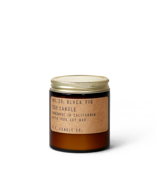 "Bougie artisanale ""Black Fig"" Pf.Candle"