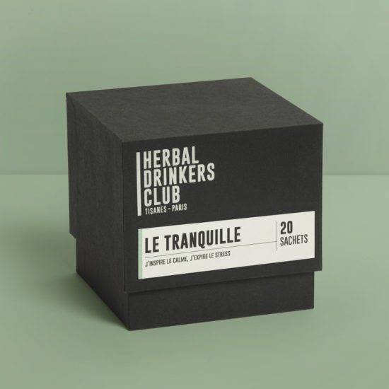"Tisane ""Le Tranquille"" Herbal Drinkers Club"