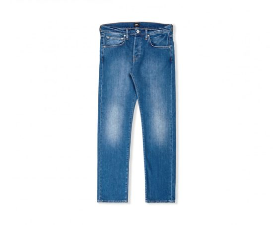 Jean ED-55 Regular Tapered CS Power Blue Denim - Baltic Wash