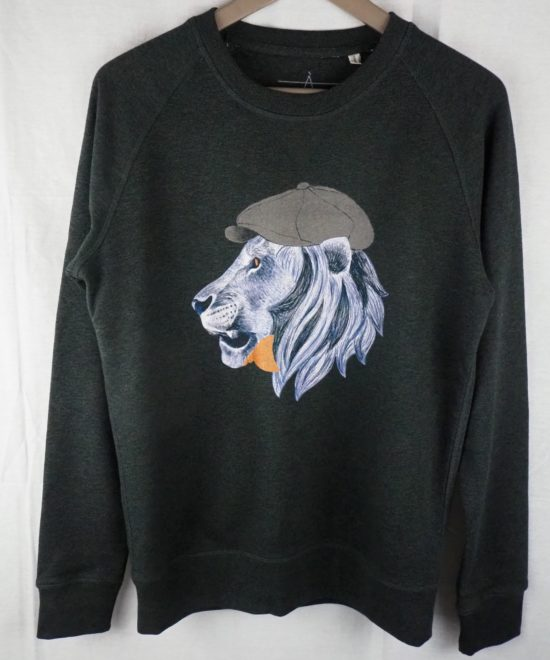 Sweat anthracite Lion Dandy
