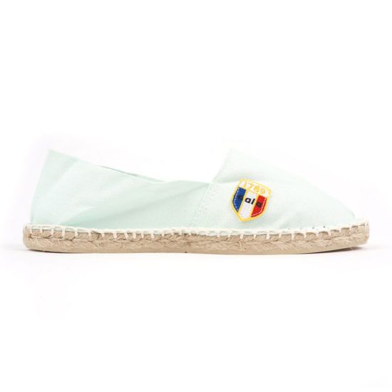 Espadrilles en toile acqua made in France Cala1789