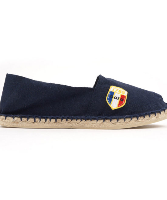 Espadrilles en toile marine made in France