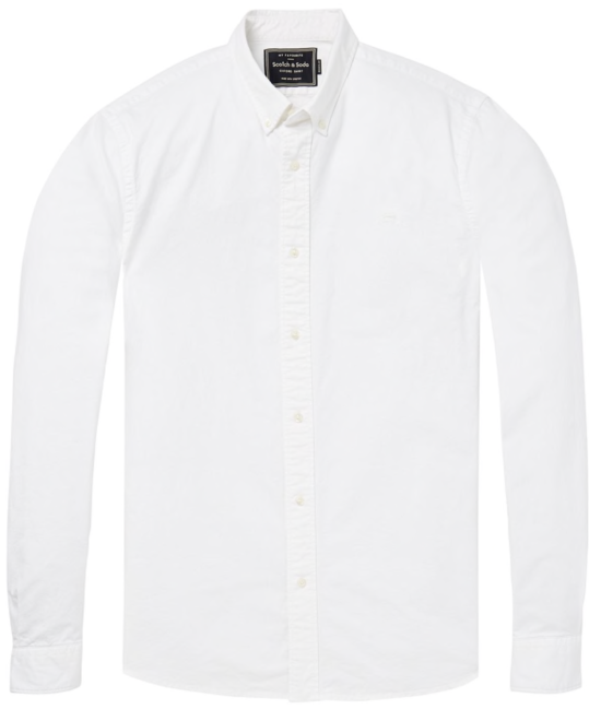 Chemise Regular fit blanche
