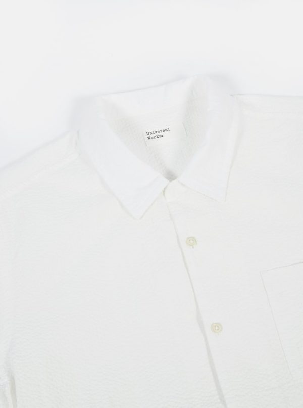 Chemise blanche manches courtes 2