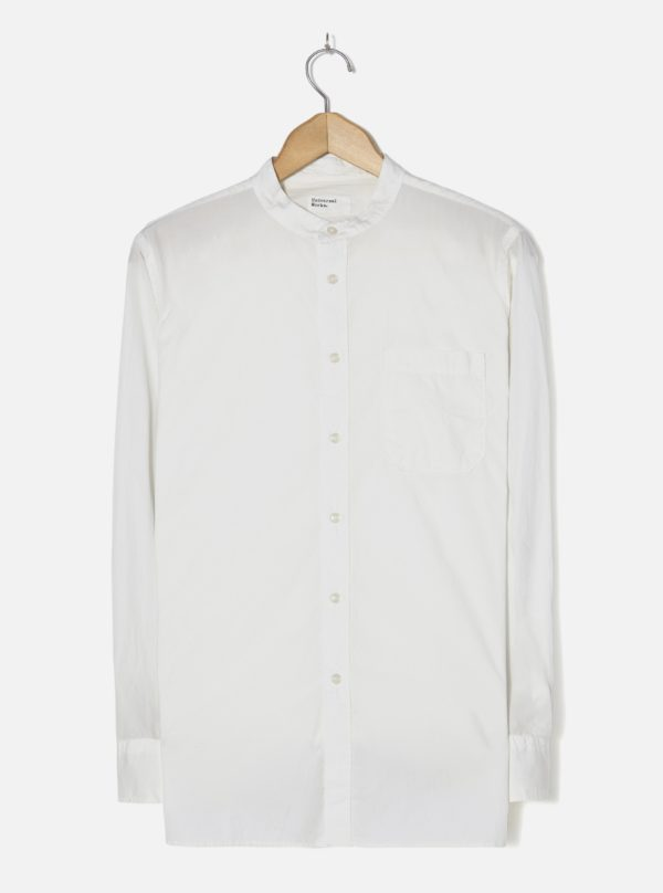 chemise blanche col mao 2