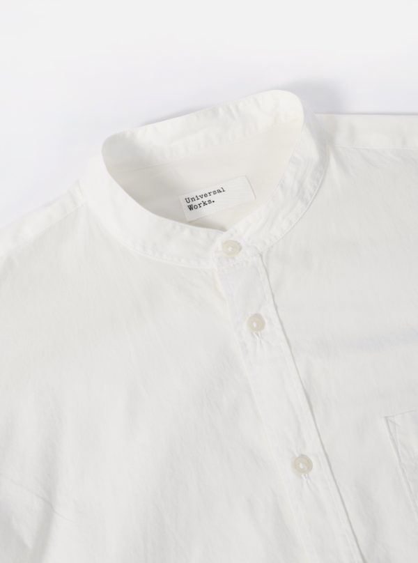 chemise blanche col mao 3