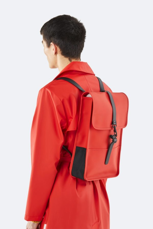 backpack mini red sac à dos rouge Rains FW19