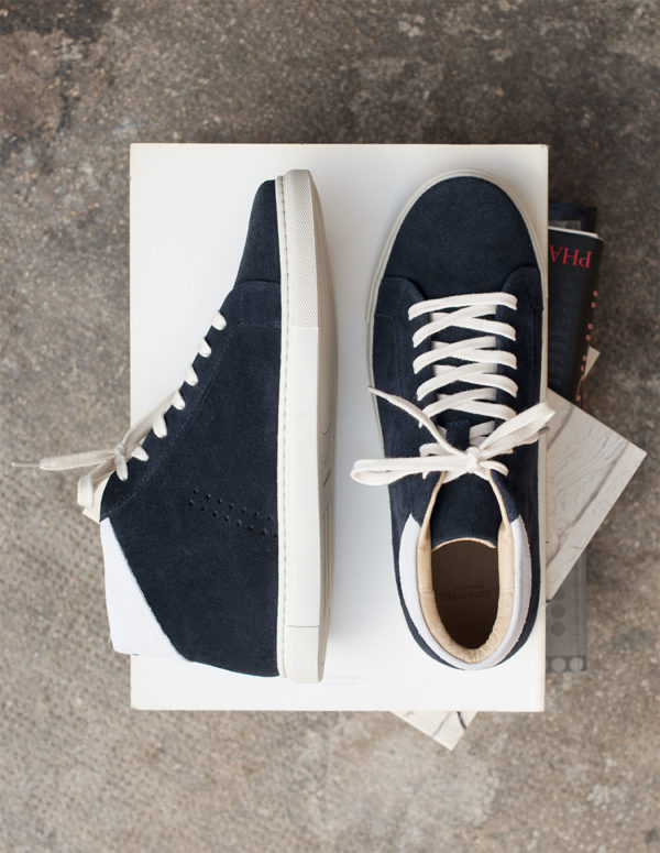 sneakers high top navy M. Moustache Fall 2019
