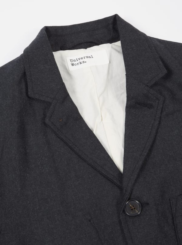 jacket grey flannel winter 19 universal works for a mon image paris