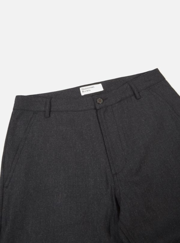 pants in charcoal flannel aston universal works winter 19 for a mon image paris