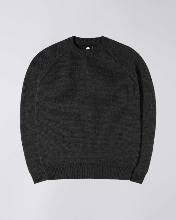 pull col rond anthracite edwin pour a mon image