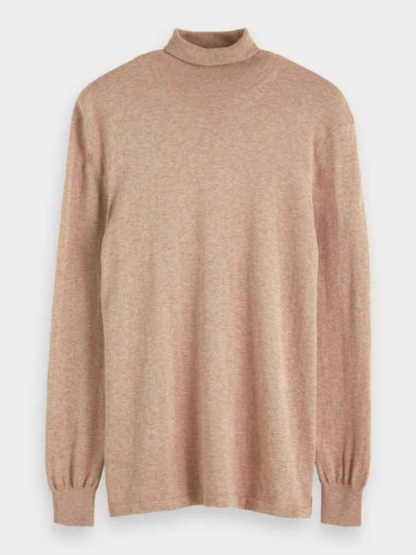 turtleneck sweater cotton wool camel winter 19