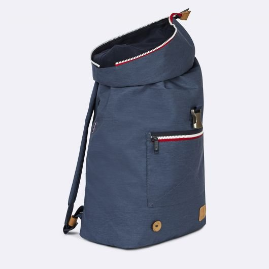 backpack cycling faguo in blue denim spring summer 2020 for a mon image paris