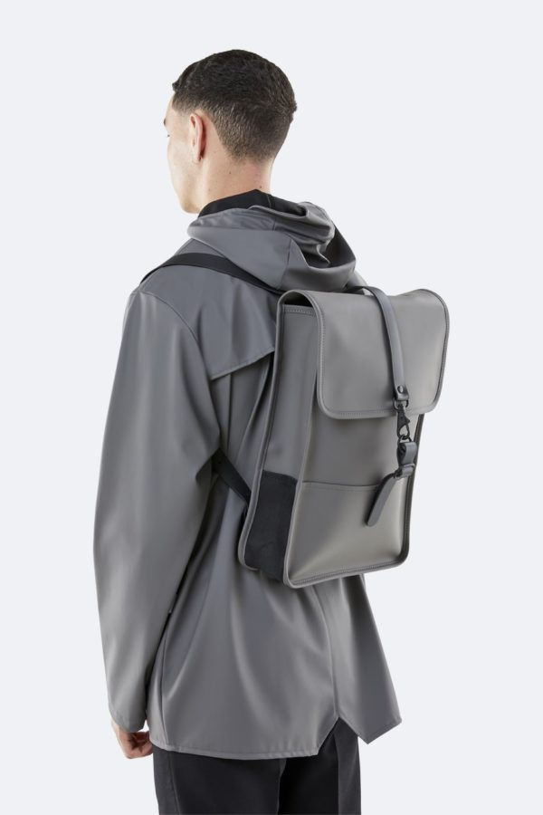 backpack mini charcoal grey SS20 Rains for A Mon Image Paris 75009