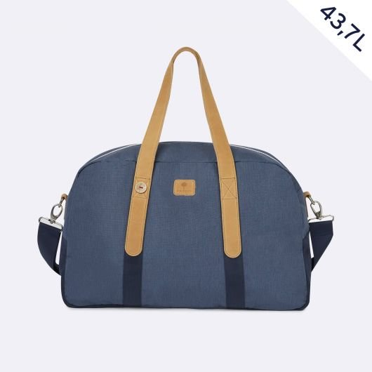 bag48 for 48H trip weekend in navy blue spring summer 2020 by faguo for amonimageparis.com