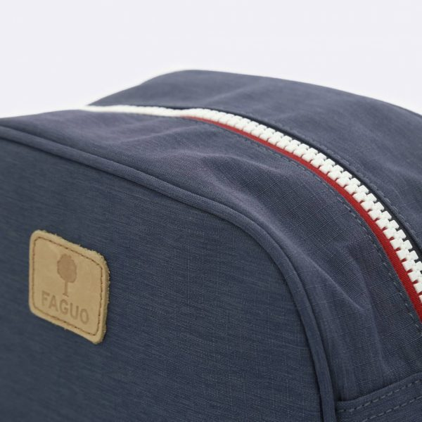 washbag in navy blue nav00 spring summer 2020 by faguo for a mon image paris 75009