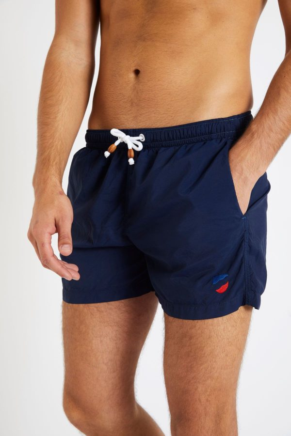 swim short in navy blue by 1789 Cala for A Mon Image Paris